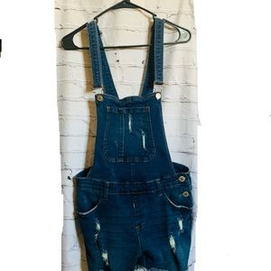 Coverall shorts jeans